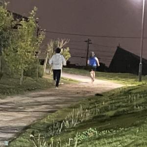 10月11日(月)滑川長距離教室。